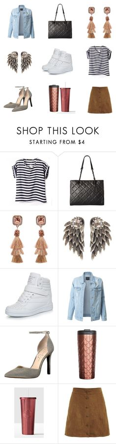 """Items from Amazon"" by lexymoniquecebu ❤ liked on Polyvore featuring ALDO and LE3NO"