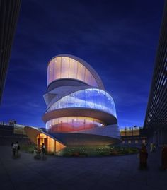 Mobius Strip Temple: One architect wanted to modernize it for a soon-to-be built temple in China, and based the updated design on the Mobius Strip — which also happens to symbolize reincarnation.