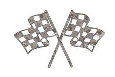 Racing Flags - Plasma Cut Metal Shape CAR10-M