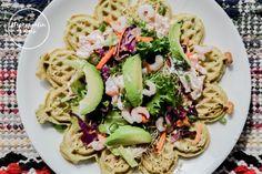 suolaisetvohvelit-0905 Pasta Salad, Tacos, Mexican, Ethnic Recipes, Blog, Crab Pasta Salad, Blogging, Mexicans