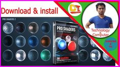 how to download and install pro shaders pack element 3d Element 3D V22017 https://youtu.be/_R-3VtujBHA