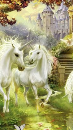 Unicorn Background Printed Soft Bamboo Fiber Sport Drying Washcloth&Bath Towels for Unicorn And Fairies, Unicorn Fantasy, Unicorns And Mermaids, Unicorn Horse, Unicorn Art, Fantasy Dragon, Beautiful Unicorn, Beautiful Fantasy Art, Beautiful Horses
