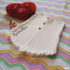 Yeni Doğan Kız Bebek Yeleği #crochet #knit #knitting #skirt