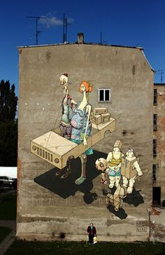 All that I know about this piece is that it was taken somewhere in Szczecin, Poland. Looks amazing anyways.