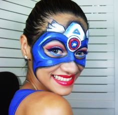 Dragon Face Painting, Face Painting Tips, Face Painting For Boys, Face Painting Designs, Body Painting, Facial, Superhero Makeup, Superhero Face Painting, Artistic Make Up