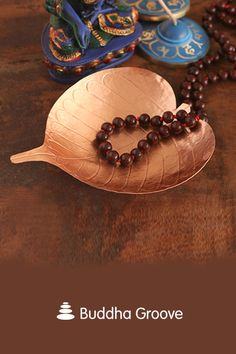 Inspired by the leaves of the Bodhi tree, this delicate copper leaf is an enduring symbol of peace and prayer. Adorn a meditative cornerof your home or place it on your altar. Bodhi Leaf, Bodhi Tree, Offering Prayer, Zen Home Decor, Safe Food, Altar, Cleaning Wipes, Cart, Meditation