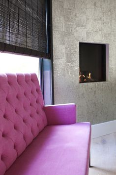 Project of Stock Interiors Luxury Living, Home Interior Design, Ramen, Showroom, Love Seat, Accent Chairs, New Homes, Fire, Couch