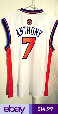 Adidas NBA Jersey New York Knicks Carmelo Anthony White sz 0d23f7662