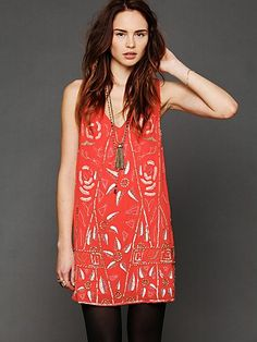 Searching for a party dress? http://www.freepeople.com/Secret-Garden-Shift/