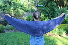 Ravelry: Your Message Here Shawl pattern by Heather Anderson