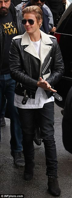 Justin Bieber will always be a fashion icon for me.  #JustinBieber #Black&White