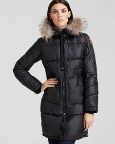 parajumpers womens long bear coat
