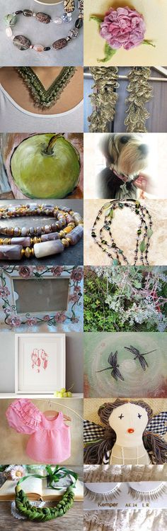 Spring garden influence by Chris P. on Etsy--Pinned with TreasuryPin.com