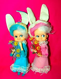 Kitschy Bunny Girls by ♥♥ Sugar Lemon ♥♥, via Flickr