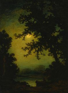 Stilly Night, Ralph Albert Blakelock. American (1847 - 1919)