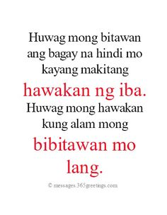 Tagalog Love Quotes - 365greetings.com Love Quotes For Her, Cute Love Quotes, Unexpected Love Quotes, Famous Love Quotes, Qoutes About Love, Inspiring Quotes About Life, Crush Quotes Tagalog, Hugot Quotes Tagalog, Patama Quotes
