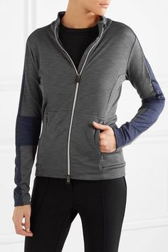 Kjus - Mirrabell Slub Stretch-jersey Jacket - Dark gray - FR36