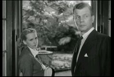 Teresa Wright and Joseph Cotten reunited in The Steel Trap 1952