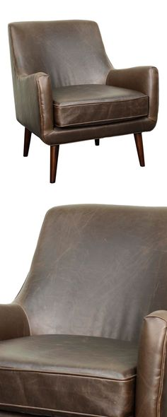You can't go wrong with a classic, and this Teton Leather Arm Chair is about as classically timeless as it gets. Supple leather upholstery offers a traditional look and feel, while the casual profile a...  Find the Teton Leather Arm Chair, as seen in the Lounge Chairs Collection at http://dotandbo.com/category/furniture/chairs/lounge-chairs?utm_source=pinterest&utm_medium=organic&db_sku=114920