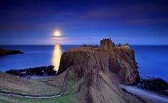 Sunset Stonehaven Scotland.