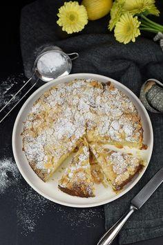 Zitronen Mandelkuchen Glutenfrei - Lemon Almond Cake Glutenfree (7) Almond Cakes, Eat Smart, Healthy Treats, Cravings, Sweet Tooth, Clean Eating, Bakery, Low Carb, Good Food