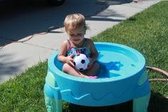 Just Add Water! Easy summer activities to keep your toddler cool and having tons of fun!!