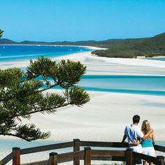 Hill Inlet, Whitehaven Beach, Queensland, Australia