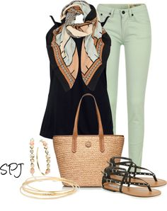 """It's a scarf kind of day"" by s-p-j on Polyvore"