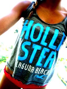 haters gon hate, but I don't think I'll ever grow out of liking hollister tanks hahah