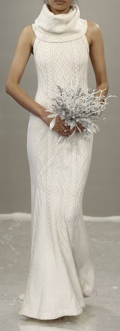 Theia White Bridal Fall 2015 - This is unique and beautiful Theia Bridal, Bridal Gowns, Wedding Gowns, Wedding App, Wedding Simple, Gold Wedding, Wedding Planner, Knitwear Fashion, Knit Fashion