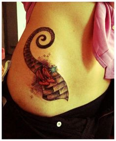 Simple Wizard of Oz Tattoo
