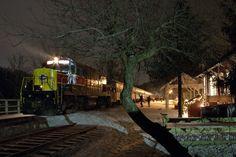 Polar Express Cuyahoga Valley | The (Daily) Rail Photo: December 2003: Cuyahoga…