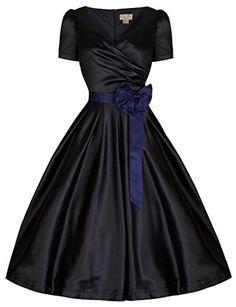 Lindy Bop 'Gina' Millésime 50's Captivant Partie Thé Robe De Swing (48, Noir) Lindy Bop http://www.amazon.fr/dp/B00P6A50QS/ref=cm_sw_r_pi_dp_HHWGub1HREJ0D