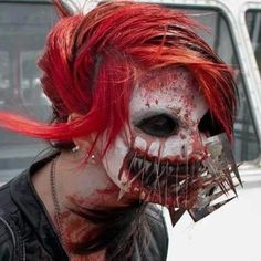 special effects makeup - Google Search WOW......I WISH I could have this whole makeup effect for Halloween....TOTALLY FREAKY!!!  I know I'd get some looks like...is that real????