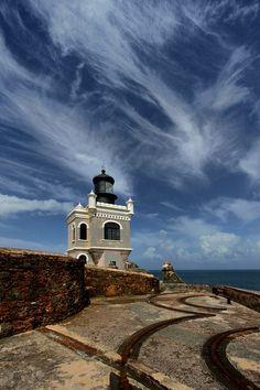 El Morro Ligthouse.San Juan.Puerto Rico.