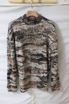 Raf Simons sweater from 2002 A/W collection
