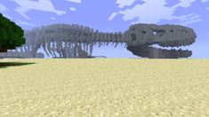 dino 600x3371 40 Outstanding Minecraft Creations