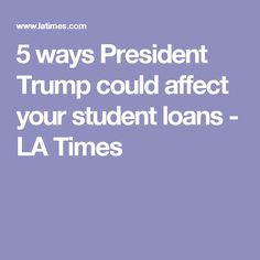 trump student debt crisis private loans