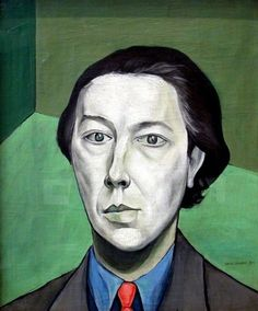 Portrait of André Breton by Victor Brauner, 1934.