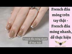 Nail French - Nghi Thảo #nail #frech #nghi #thao #nails French Nails, Train, French Tips, French Manicures