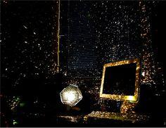 DIY Constellation Star Projector Light (Black) - HE0031B