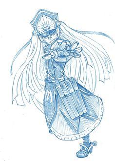 Re:Creators fanart by bbb,. Altair