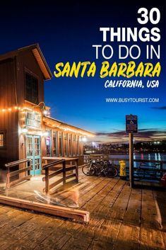 Wondering what to do in Santa Barbara CA? This travel guide will show you the best attractions activities places to visit & fun things to do in Santa Barbara. Start planning your itinerary and bucket list now! #santabarbara #california #californiatravel #usatravel #usaroadtrip #travelusa #ustraveldestinations #ustravel #americatravel #travelamerica #usdestinations #us #destinations #honeymoon #us #destinations