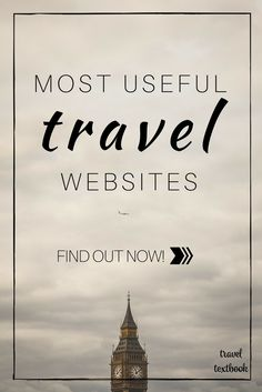 There are plenty of travel websites on the internet; how do you know which ones are good? Here is a compilation of the most useful travel sites ranging from accommodation to flights to government advice. Come and see which ones you need to bookmark.