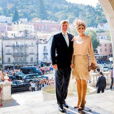 King Willem-Alexander I and Queen Maxima in Portugal. Oct. 12, 2017