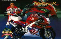 My Honda NSR250 Ducati, Yamaha, Honda Motorbikes, Bike Rider, Hot Bikes, Cafe Racer, Valentino Rossi, Super Bikes, Cbr