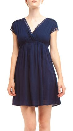 Dress, Navy by Dex >> Love this!