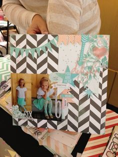 layout from Scrapfest 2013 at Heidi's table