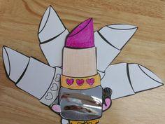 Shopkins Lippy Lips Mirror Craft-Free by PrincessPartyPrints