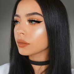 Pretty And Fresh Makup Looks For You To Start Your Year ; Makeup Looks; Fresh Makeup Looks; looks # freshmakeup Glam Makeup, Cute Makeup, Pretty Makeup, Makeup Inspo, Makeup Inspiration, Beauty Makeup, Hair Makeup, Eyelashes Makeup, Sexy Makeup